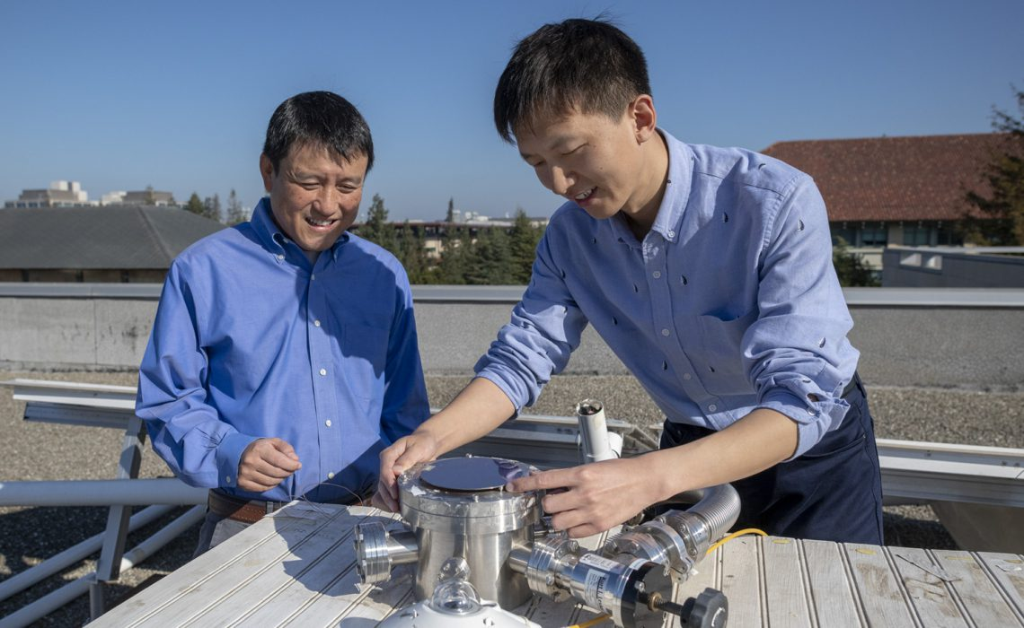 The next solar cell may cool your building as well