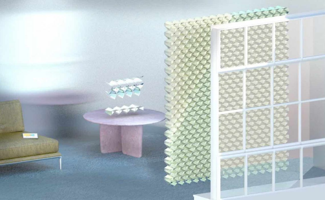 Origami-Inspired Solar Panel Could Start Generating Renewable Electricity From Your Window